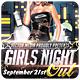 Girls Night Out - Flyer