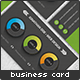 Charted Skills Business Card - GraphicRiver Item for Sale