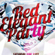 Red Elegant Party Flyer Template - GraphicRiver Item for Sale