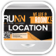 Runn Marathon Running Club Fitness Location Board - GraphicRiver Item for Sale