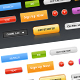 Various Web Buttons - GraphicRiver Item for Sale