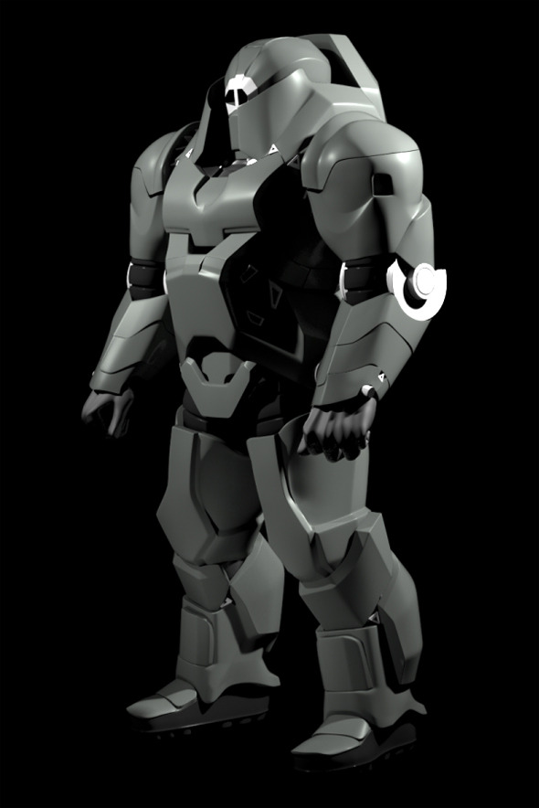 Hard Surface Character Sci-fi - 3DOcean Item for Sale
