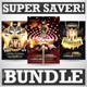 Exclusive Party Flyers Super Bundle - GraphicRiver Item for Sale