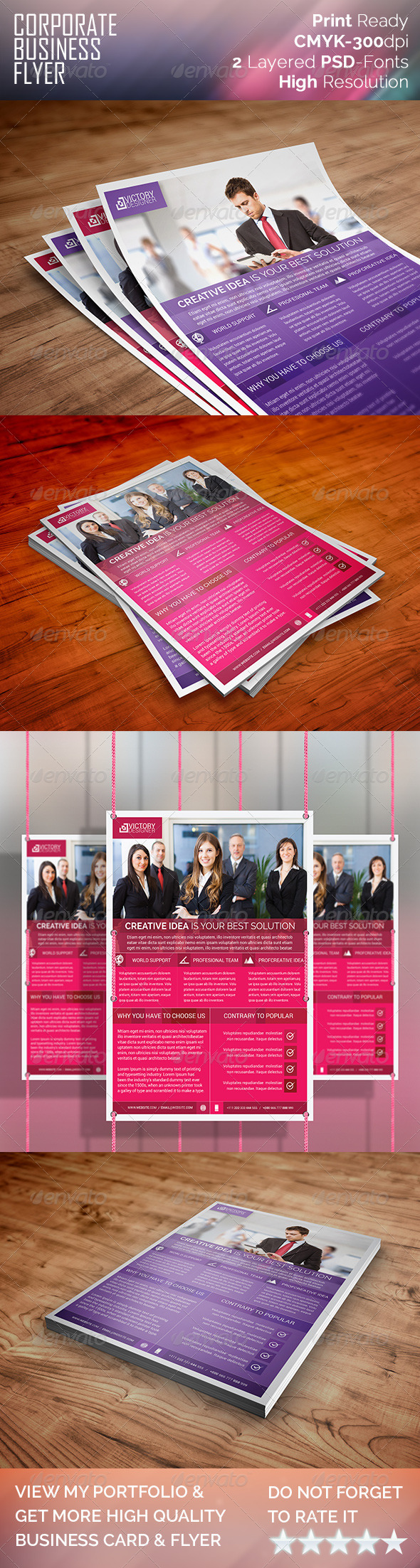 Modern & Corporate Business Flyer - Corporate Flyers