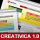 """Creativica 1.0"" theme - ThemeForest Item for Sale"