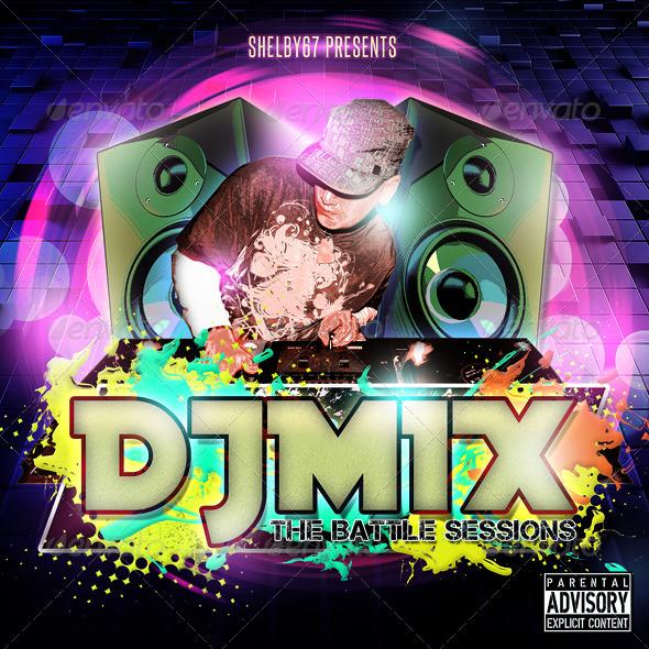 dj mix mixtape    cd    dvd artwork template by shelby67