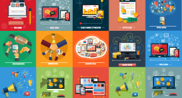Concepts items for web and mobile applications