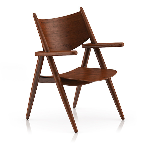 Wooden Chair 2 - 3DOcean Item for Sale