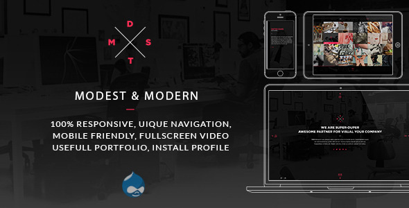 MDST – Modest & Modern Multipurpose Drupal Theme