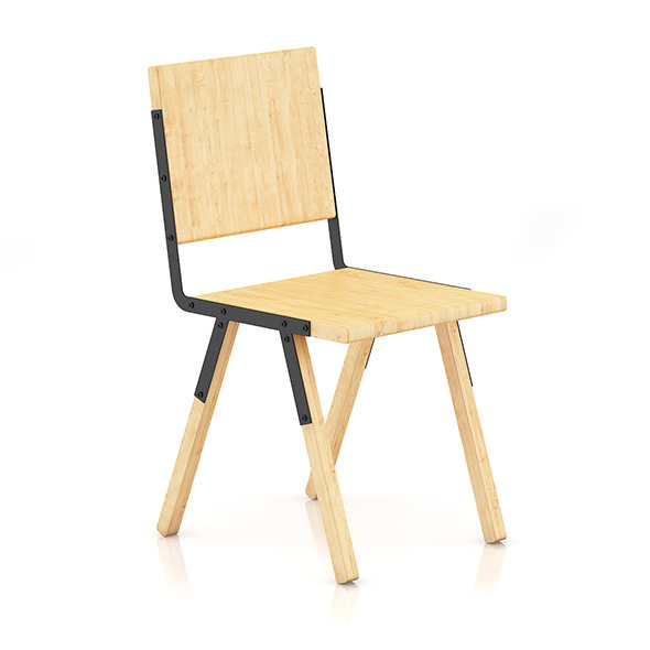 Wooden Chair 3 - 3DOcean Item for Sale
