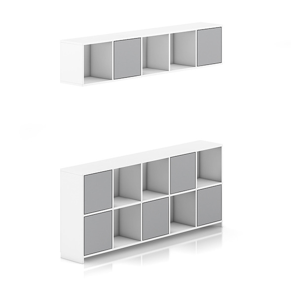 Standing and Handing Shelves - 3DOcean Item for Sale