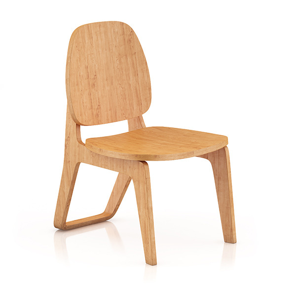 Wooden Chair 5 - 3DOcean Item for Sale