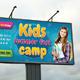 Kids Summer Camp Outdoor Banner 02 - GraphicRiver Item for Sale