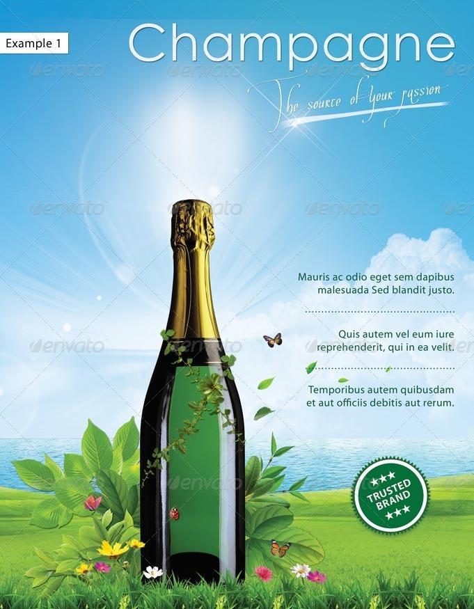 Green Advertising Poster by Minkki | GraphicRiver