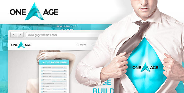 One Age - One page WordPress Theme