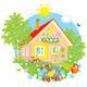 Summer Cottage - GraphicRiver Item for Sale