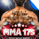 MMA Fight Night Party Flyer Template - GraphicRiver Item for Sale