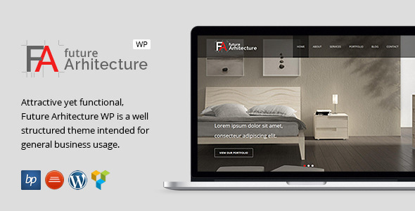 Future Architecture – Responsive WordPress Theme