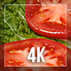 Tomatoes And Salad 4k - VideoHive Item for Sale