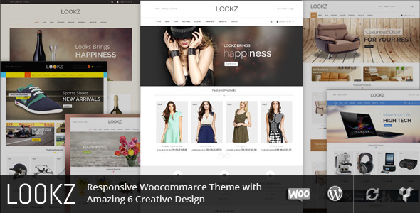 Lookz – Multipurpose WordPress Theme