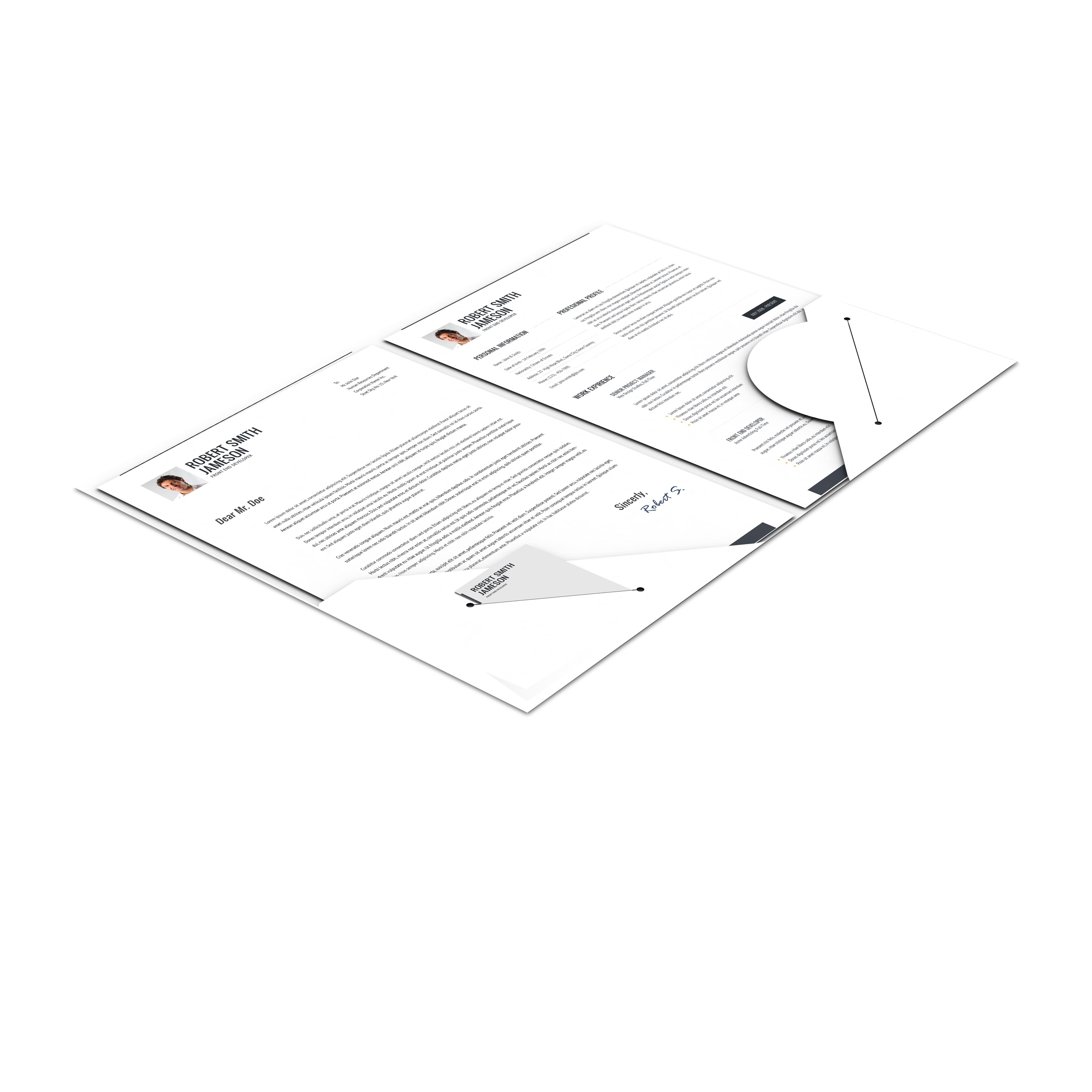 Cv Portfolio Responsive Resume By Bitpub Themeforest