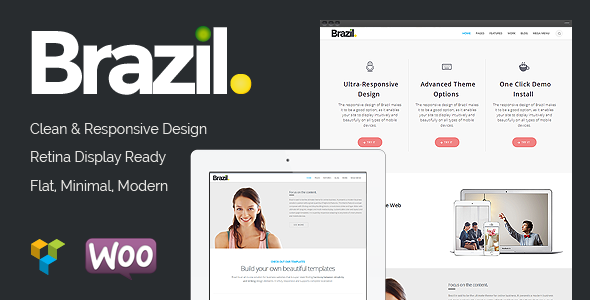 Brazil - Wordpress Theme - Business Corporate
