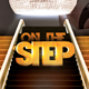 On The Step Flyer Template