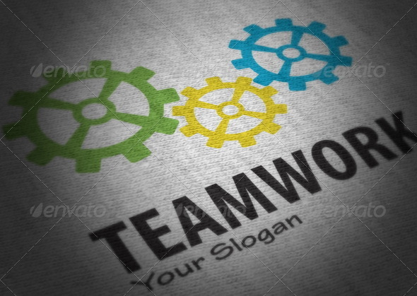 Teamwork Logo - Vector Abstract