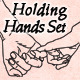 Holding Hands Vectors - GraphicRiver Item for Sale