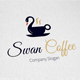 Swan Coffee Logo Template - GraphicRiver Item for Sale