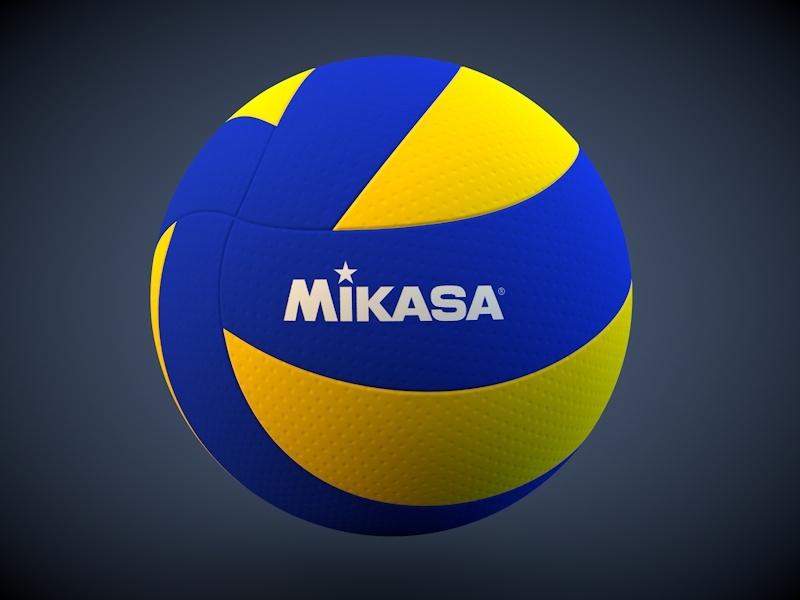 Mikasa Mva200 Volleyball 3d Model By Rahmanjin 3docean
