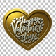 Love Engraving 3 D Hearts Pack - VideoHive Item for Sale