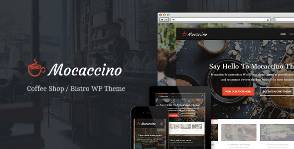 Mocaccino – WordPress Theme For Restaurants