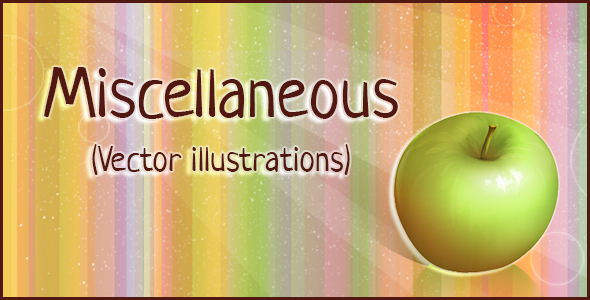Miscellaneous (Vector illustrations)
