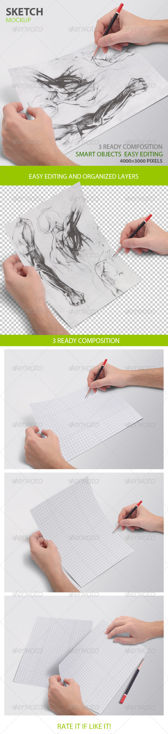 Sketch mockup - Miscellaneous Print