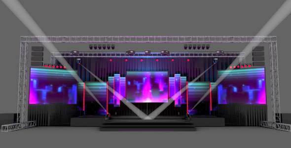 Stage Design pack - 3DOcean Item for Sale