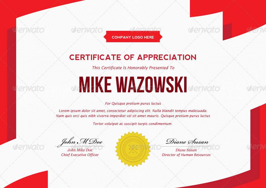 Modern Dynamic diploma award Certificate by bnrcreativelab ...