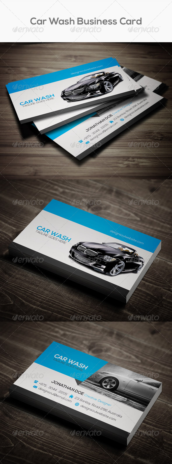 Car wash business card by designsoul14 graphicriver car wash business card colourmoves