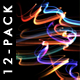 Fast Glowing Strokes - Pack 12 - VideoHive Item for Sale