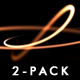 Circular Curves Pack - Hot & Cold - 2 HD Loops - VideoHive Item for Sale