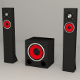 Subwoofer Satellites Speaker Set