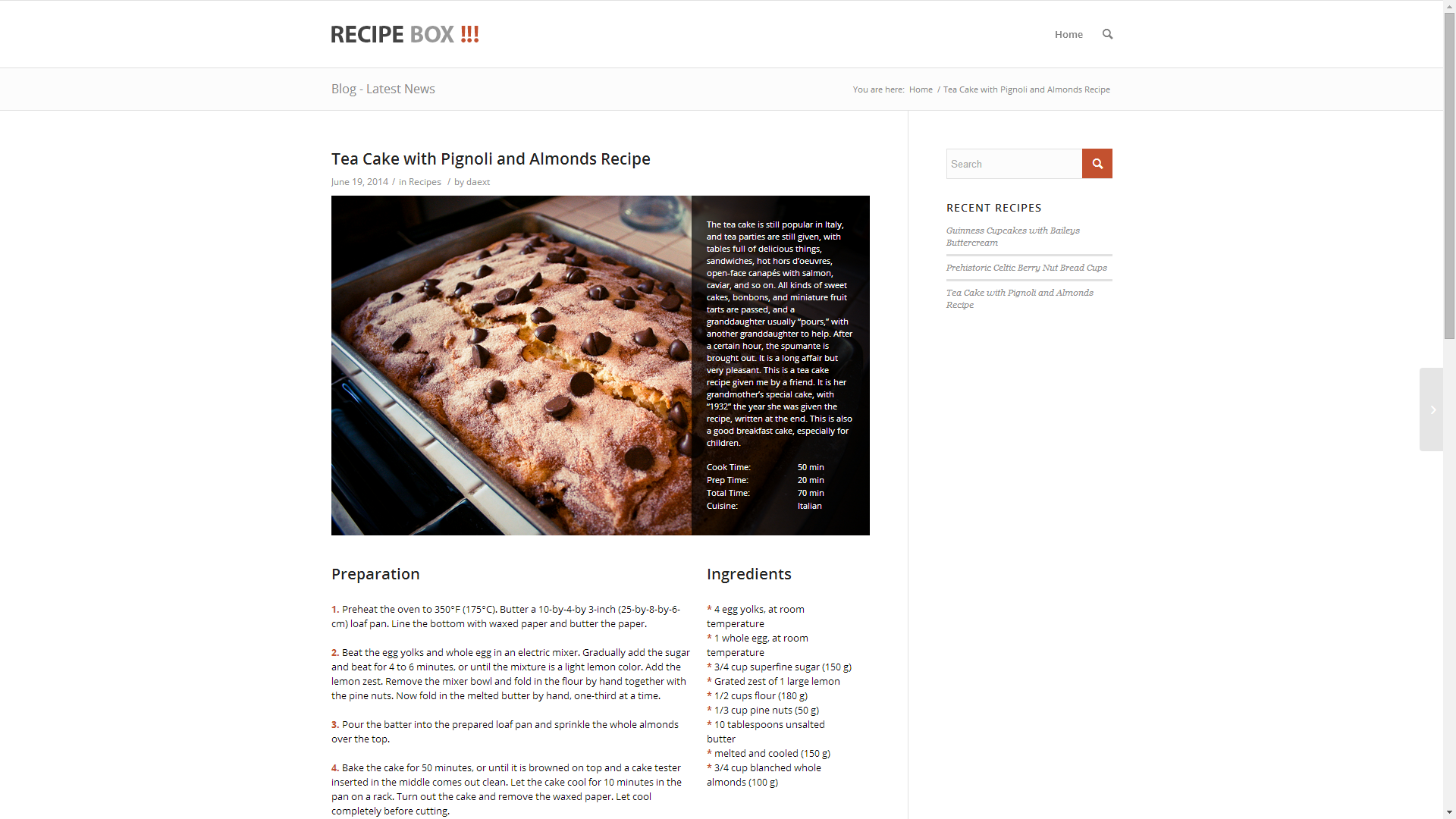 Recipe box recipe plugin for wordpress by daext codecanyon meta box 1g meta box 2g options 1g options 2g options 3g options 4g options 5g options 6g forumfinder Choice Image