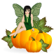 Fairy on a Pumpkin - GraphicRiver Item for Sale