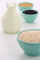 vintage setting oatmeal ingredients - PhotoDune Item for Sale