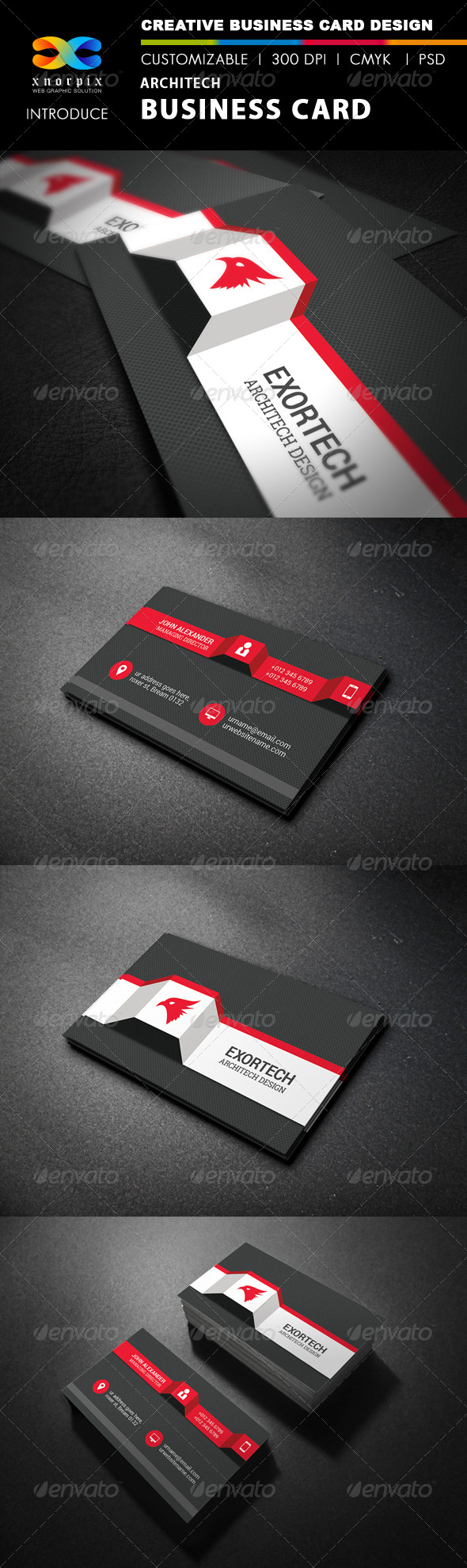 Architect Business Card By Axnorpix