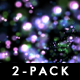 Arty Vortex Dots I - Pack - 2 Full HD Loops - VideoHive Item for Sale