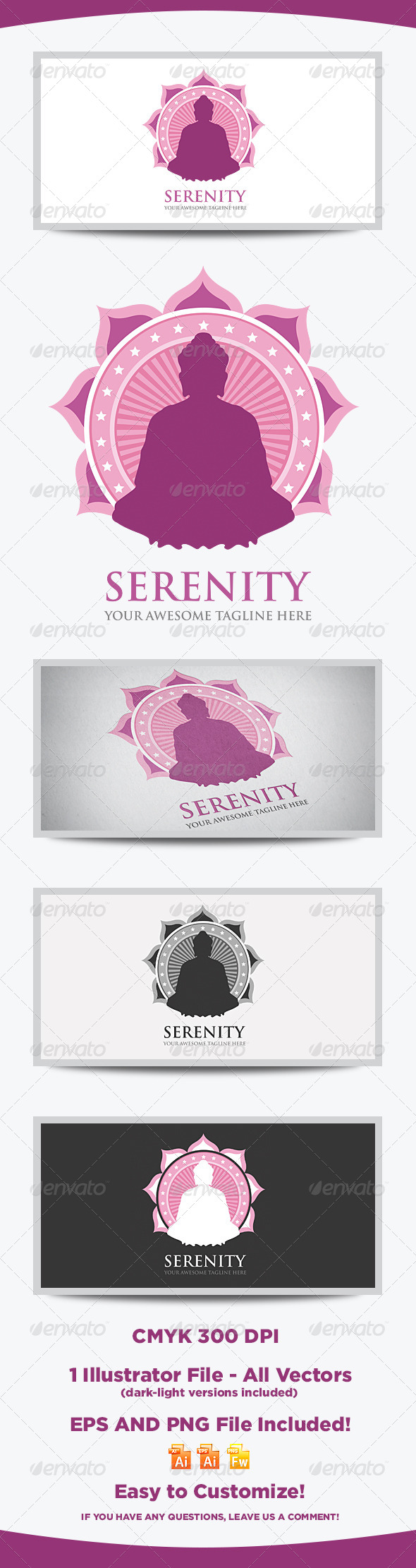 Serenity Logo Template - Logo Templates