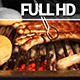 Barbecue Grill with Bread & Steak - VideoHive Item for Sale