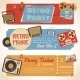 Music Retro Banners - GraphicRiver Item for Sale