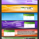 8 Graphical Headers for your website. - GraphicRiver Item for Sale